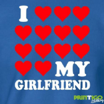 I Love My Girlfriend Sweatshirt